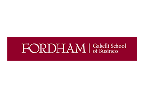 logo >> Fordham University - Gabelli School of Business